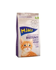 Mjau Kattunge Tørrfôr 1,4 kg