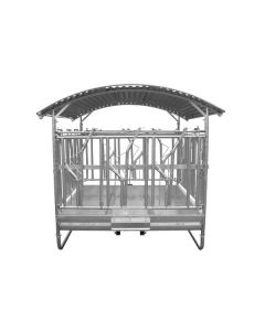 Fôrhekk Willab Med tak Låsbare grinder 12 spiseplasser