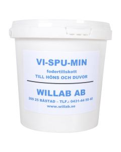 Fôrtilskudd Høns Vispumin 1 kg