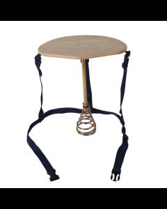 Melkestol med fjær