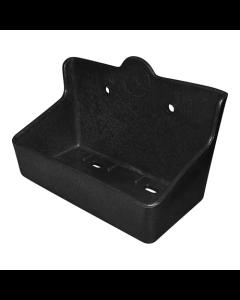Saltsteinsholder Boks Plast For 2 kg sten Svart