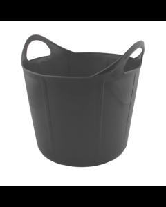 Portabel forkrybbe Flexi Svart 17 L