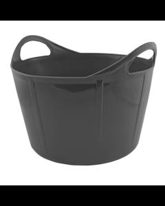 Portabel forkrybbe Flexi Svart 28 L