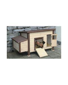 Hønsehus Isolert Med oppvarming 2-5 høns