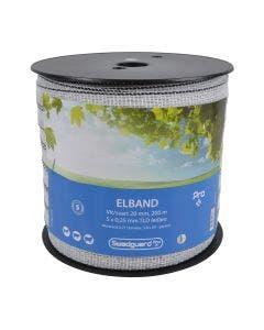 Elbånd Swedguard Pro+ 20 mm Hvit/svart 200 m 5x0,25
