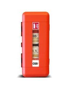 Skåp för 6-9 kg Brandsläckare CGS EC9SW Röd med Fönster