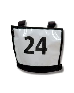 Nummerskilt til feltritt Basic A4-lomme foran/bak