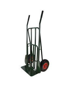 Sekketralle med punkteringsfrie hjul