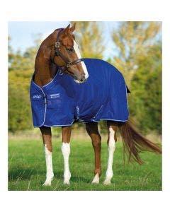 Regndekken Horseware Amigo Hero ACY Lite Atlantic Blue & Ivory