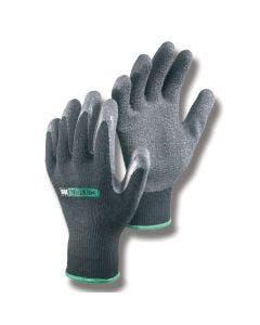 Handske latex/bomull Hestra Brom