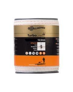 Elbånd Gallagher TurboLine Hvit 12,5 mm
