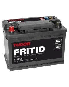 Fritidsbatteri 12V - 72 Ah Tudor