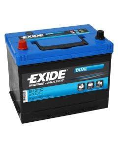 Fritidsbatteri 12V - 80 Ah Tudor/Exide