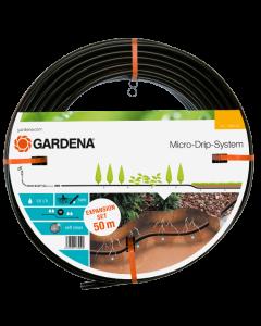 Drypp-vanningsrør Gardena til nedgraving Expansion set, 50 m