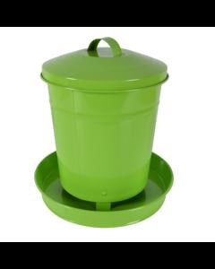 Foderautomat 4 kg plåt grön