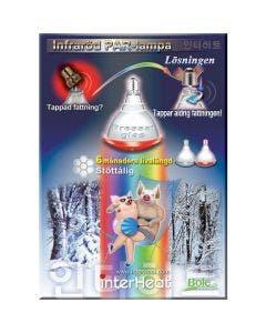Varmepære Interheat 3G PAR 100W