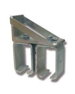 Konsoll stål 5/307S for doble skinner