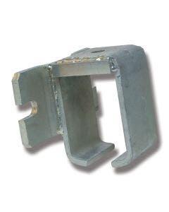 Konsoll stål 9/307S for veggmontasje
