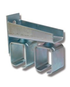 Konsoll stål justerbar 5/301S for doble skinner