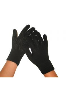 Magic Gloves  Sort voksen
