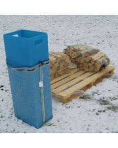 Vedstabler i plast 60-80 liter