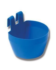Burkopp plast 3dl Blå