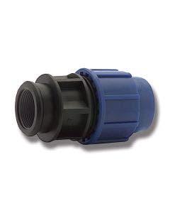 VDL Plastkobling Rett 16 x R15 inv
