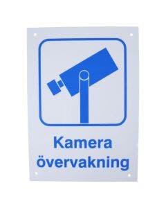 """Skilt """"Kameraovervåking"""""""