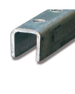 Styreskinne stål 3 m 89C/3M