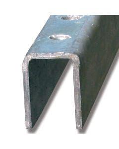Styreskinne stål 3 m 97C/3M