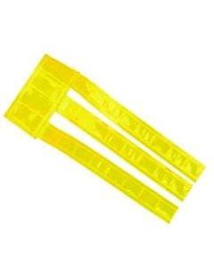 Halerefleks med borrelås 1 str gul