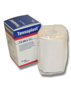 Tensoplast for fiksering av bandasje
