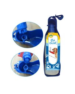 Matskål Vannflaske 25 Cm, Blå