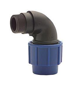 VDL Plastkoppling Vinkel  20 x R15 utv gg