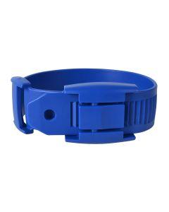 Leggbånd plast blå 5pk